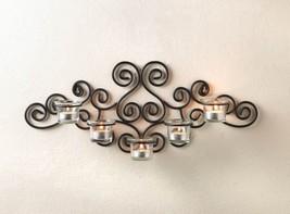 Black Sconce Candleholder - New image 3