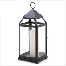 10 Black Lantern Candleholder Wedding Centerpieces - $185.13