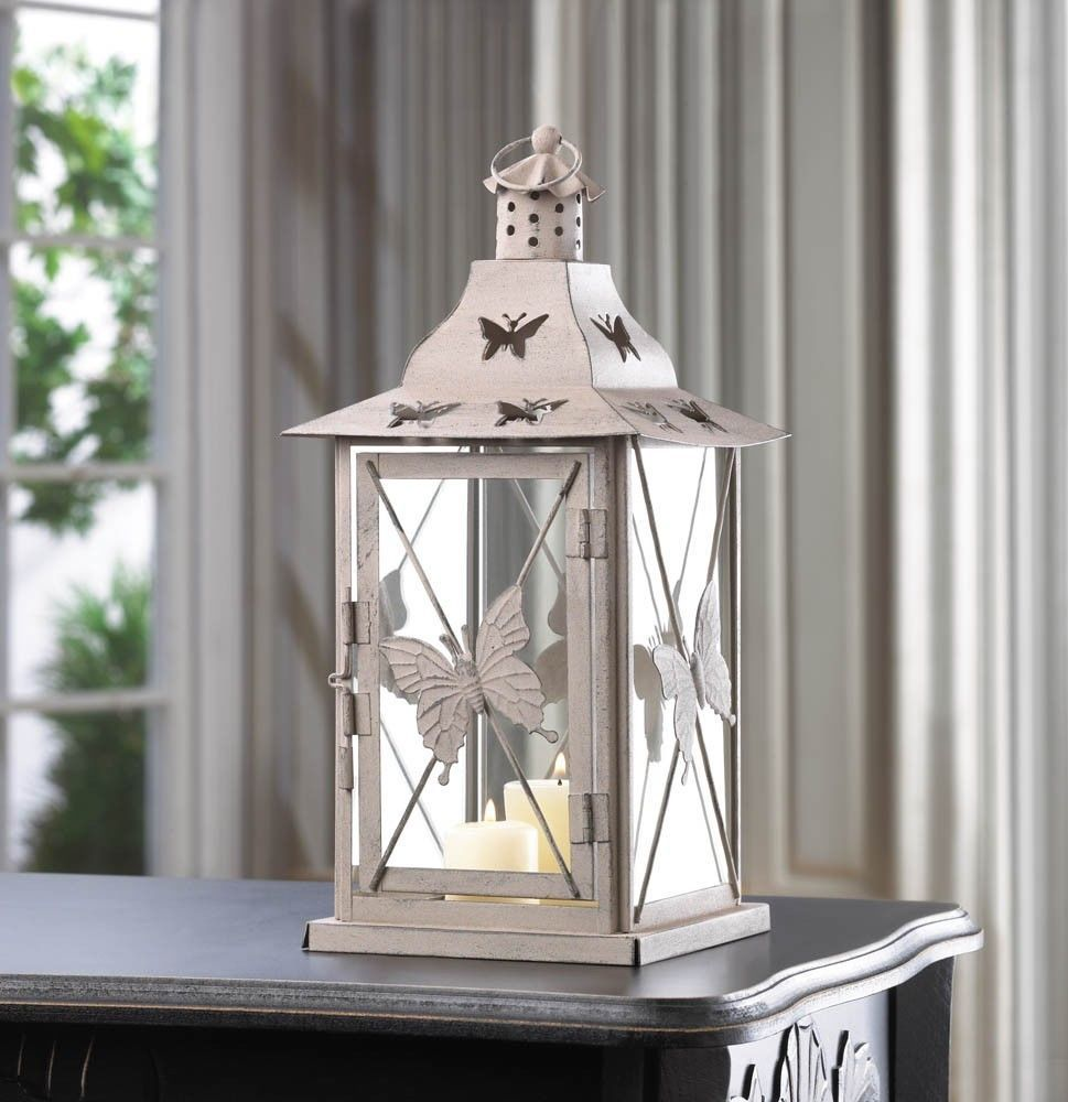 9 Large Gazebo Style Candle Lantern Wedding Centerpieces