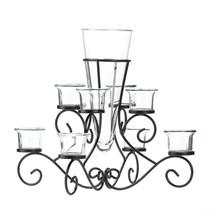 15 Large Black Candelabra Candle Holder Table Decor Wedding Centerpieces image 2