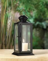 10 BLACK Lantern Candle Holder WEDDING Centerpieces image 1