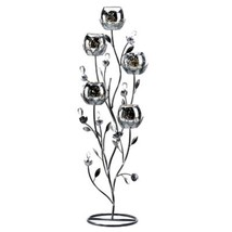 "Large Silver Candelabra Wedding Centerpieces Table Decor 27"" Tall - New - €33,91 EUR"