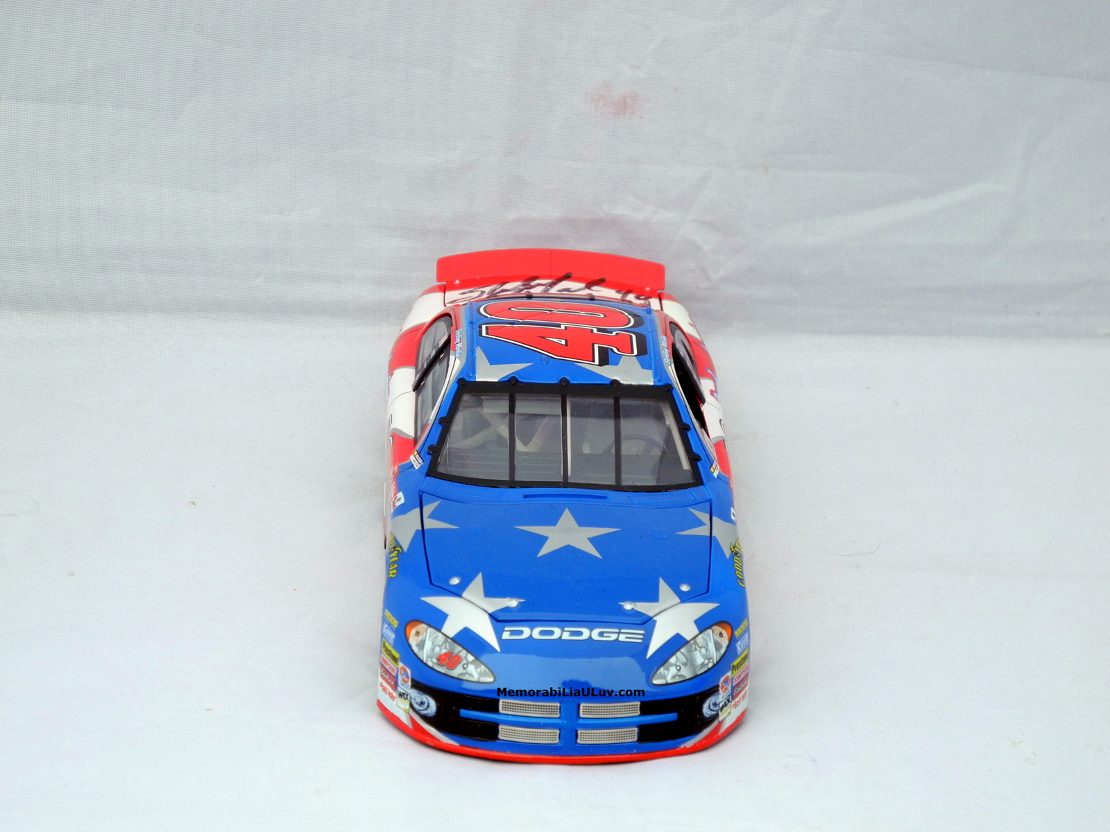 Sterling Marlin Proud to Be an American Signed 1:24 Diecast Model Nascar image 3