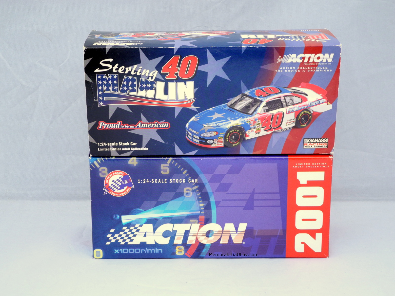 Sterling Marlin Proud to Be an American Signed 1:24 Diecast Model Nascar image 5