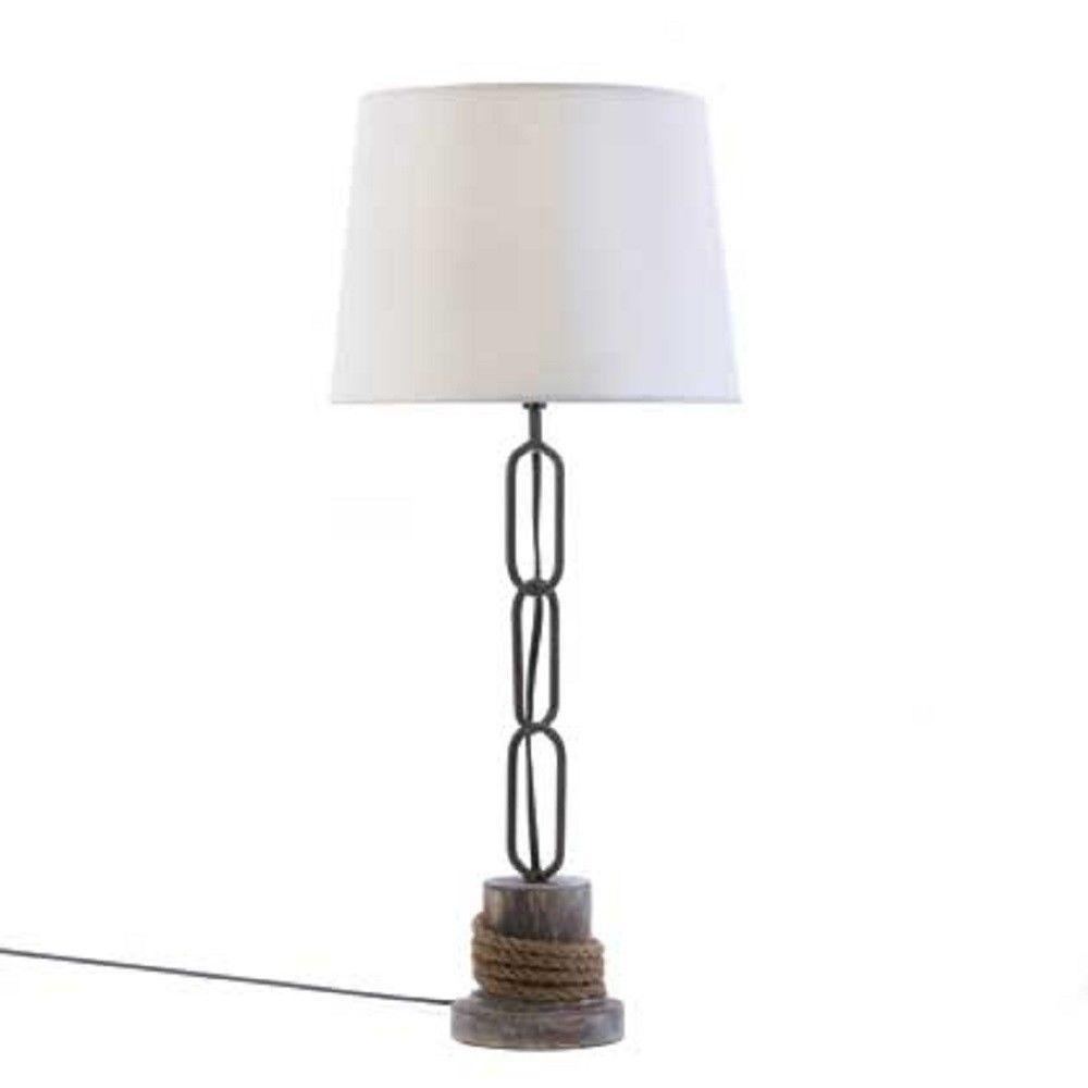 Nautical Rope Trim Table Lamp image 2