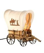 Western Cowboy Wagon Table Lamp - $54.00
