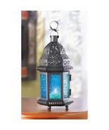 10 BLUE Candle LANTERN Large Candleholder  WEDDING CENTERPIECES - $139.00
