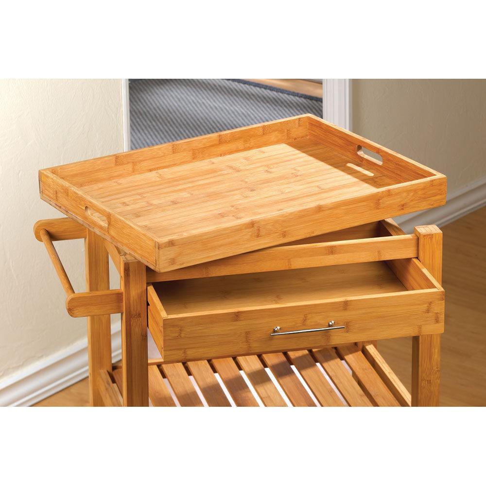Kitchen Cart  Breakfast Tray Table - New