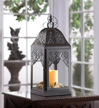 "15 Black Lantern Candle Holder Table Decor Wedding Centerpieces 16"" Tall - $385.00"