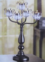 15 BLACK CANDELABRA WEDDING Centerpiece TALL Table Decor Tree Centerpieces image 1