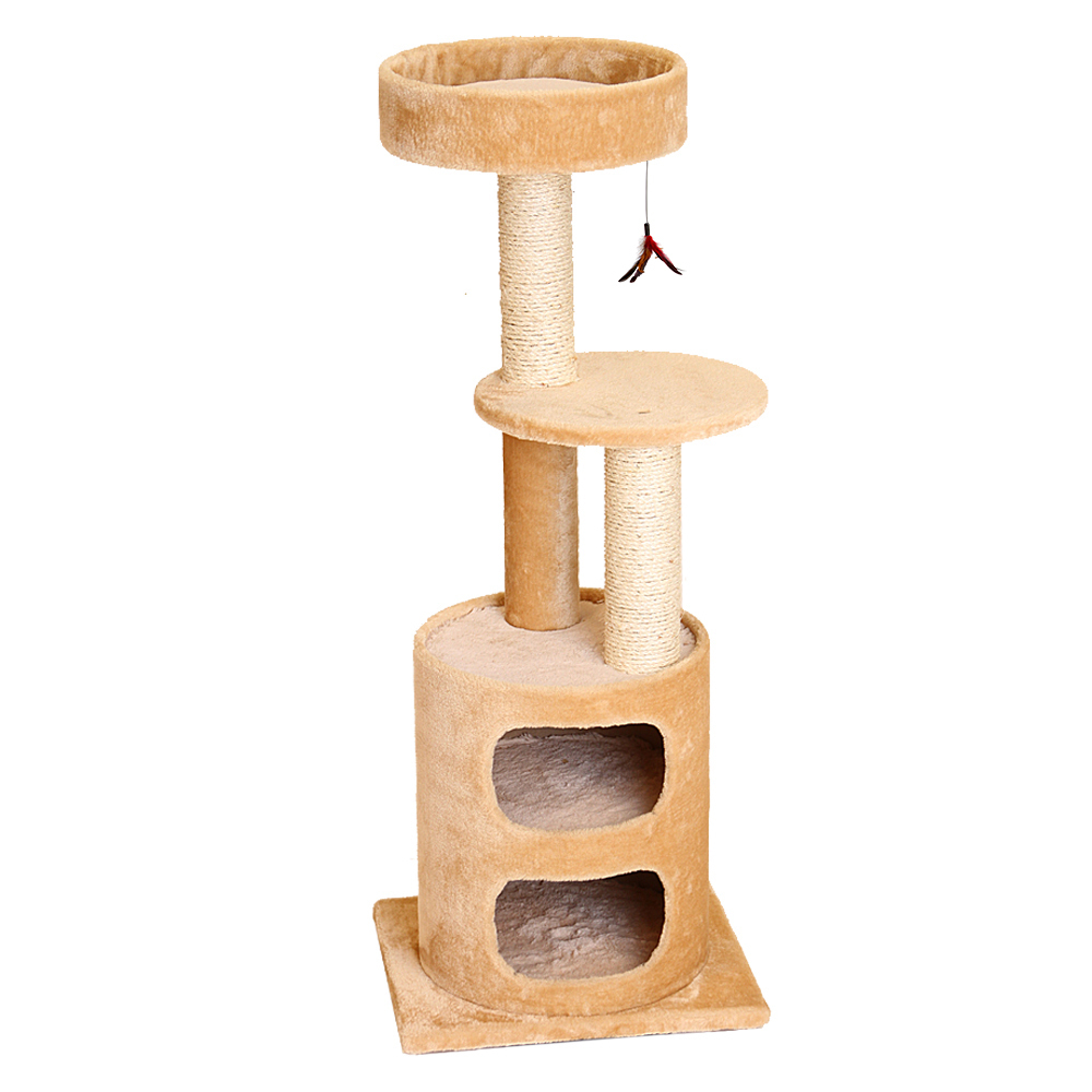 Na48531 a two story kitty condo   tree f