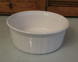 Corning Ware F-5-B French White 1.6 Litre Round Casserole Dish - $15.83