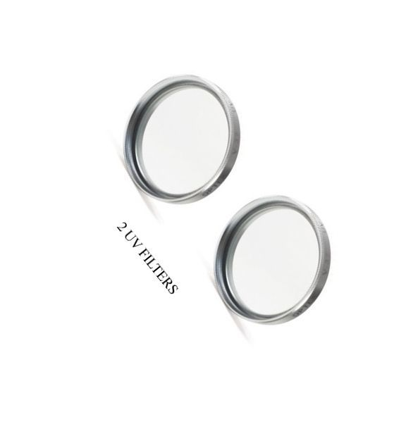 TWO 2 UV Filters for Sony DCRTRV11E DCR-TRV16E DCR-DVD703 DCR-DVD703E DCRDVD703