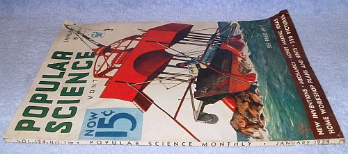 Vintage Complete Popular Science January 1934 Magazine Astronomer  image 6