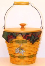 Longaberger Autumn Reflections 2002 Pail Basket Plastic Protector Only New image 2