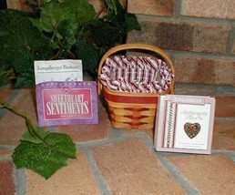 Longaberger 1995 Sweetheart Sentiments Basket Plastic Protector Only New Genuine image 2
