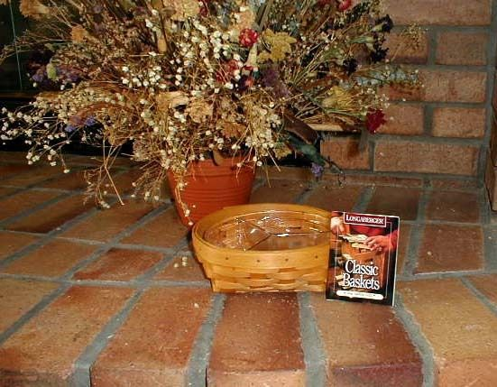 Longaberger Medium Catch All Basket Butternut Yellow Fabric OE Liner New In Bag