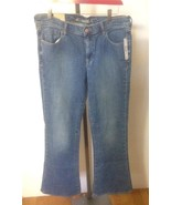 OLD NAVY Wms SWEETHEART Blue Jeans 12 Regular C... - $16.65