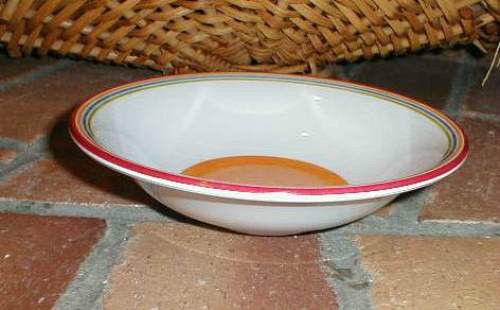Longaberger Sunny Day Orange Salad Soup Cereal Bowls Set Of 2 Dinnerware New