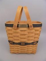 Longaberger Collectors Club 1st Membership Tall Key Basket Stripe Fabric Liner image 2