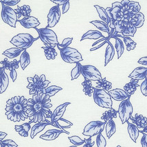Longaberger Cottage Trellis Blue Fabric Hostess File Basket Over Edge Liner New image 1