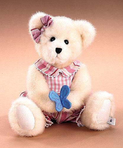 "Boyds Bears ""Fifi Flutterbeary"" 10"" Plush Bear -#904514- NWT- 2006"