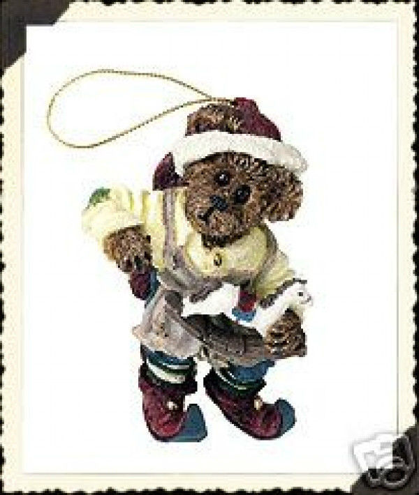 "Boyds Bearstone""Tinker...A Few Little Taps"" Ornament* #25749-1E-NIB-2001-Retired image 1"