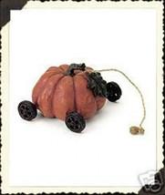 """Boyds Pull Toy -""""Pumpkin Express"""" 2.5"""" Pumpkin Tug Along  #654238 - 2001-Retired - $22.99"""