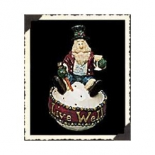 """Boyds Carvers Choice """"Ritznick..Live Well"""" Ornament *#370205* 1E*NIB* Retired image 2"""