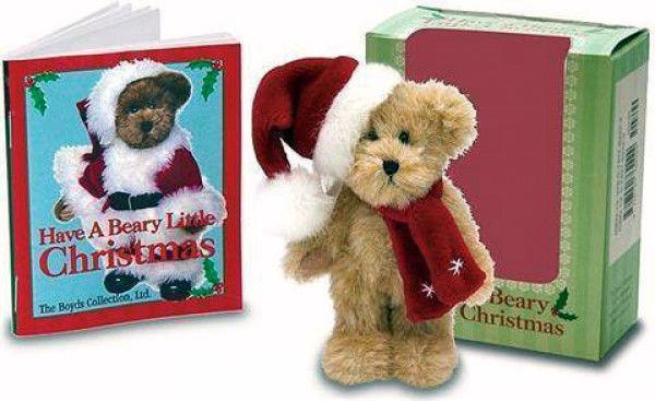 "Boyds Bears ""Have A Beary Little Christmas"" Mini Gift Set- #919126AM-4"" Bear-NIB"
