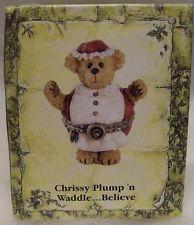 "Boyds Treasure Box ""Chrissy Plump N' Waddle"" #4014770 1E NIB 2009 Retired image 2"