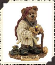 "Boyds Bearstone ""Scrooge McBear.. Bah Humbug""  #228333PAW-1E- NIB-2000- Retired image 2"