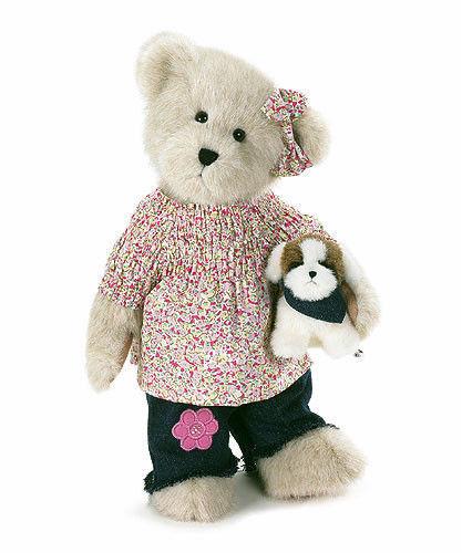 "Boyds Bears ""Maddie with Abbey"" 12"" Plush Bear- #904661 - NWT -2007-Retired"
