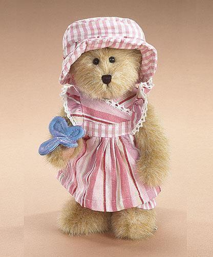 "Boyds Bears ""Macy B. Flutterbeary"" 8"" Plush Bear- #904516 - NWT -2006-Retired"