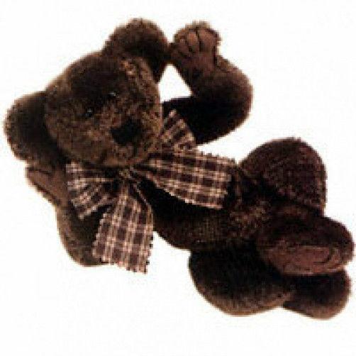 "Boyds Bear ""Scruffy Beariluved"" #51000-05  10"" Plush Bear- 2000- NWT - Retired"