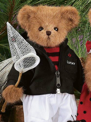 """Bearington Bears """"Lucky"""" 14"""" Collector Bear- Sku#1623 - NWT- 2006-Retired"""
