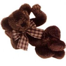"Boyds Bear ""Scruffy Beariluved"" #51000-05  10"" Plush Bear- 2000- NWT - Retired image 2"