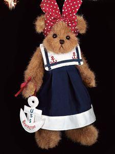 """Bearington Bears """"Mary Anne"""" 14"""" Collector Bear- Sku#1628 - NWT- 2006"""