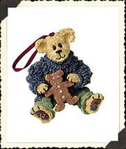 "Boyds Bearstone ""Kyle Beariman..Spicy Treat"" Ornament- #25748 -NIB- 2001-Retired - $19.99"