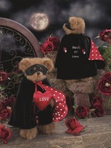 "Bearington Bears ""Bandit of Love"" 14"" Bear- #1914- NIB - 2005- Retired image 2"