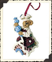 "Boyds Bearstone ""Simon...Icing Touches"" Ornament- #25746 -NIB- 2001-Retired - $15.99"