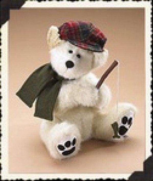"""Boyds Bears""""Fairbanks"""" 16"""" January Bear of the Month- #919880- NWT-2007"""