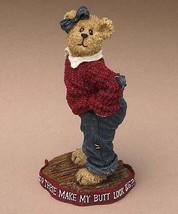 "Boyds Bearstone ""Uneeda Biggersize.These Musta' Shrunk"" #228441-1E - NIB- 2004 - $16.99"