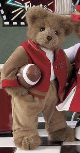 "Bearington Bears ""Tommy Touchdown"" 14"" Collector Bear- Sku#1606- NWT- 2005 image 2"