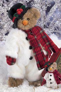 "Bearington Bears ""Willie Melt"" 14"" Collectible Bear- Sku#1757- NWT- 2006"