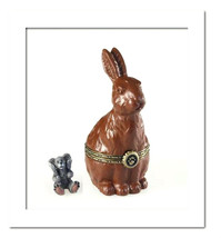 "Boyds Treasure Box ""Pascals Chocolate Bunny w/Sweet Tooth"" #4021169- NIB... - $29.99"