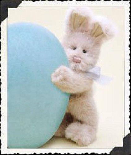 """Boyds Bears """"Gabby Bunnyhop""""  8"""" Plush Bunny-  #522700-09  NWT- 2000 - Retired"""