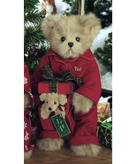 "Bearington Bears ""Puppy Love"" 14"" Christmas Collector Bear- Sku#1578 - NWT- 2005 - $34.99"