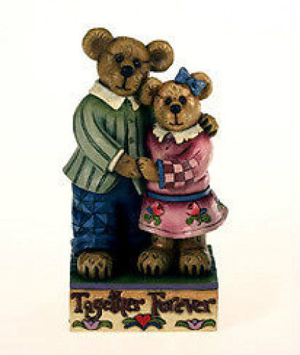 "Boyds Bearstone ""Mr & Mrs Luvington .. Together Forever"" #4016484- NIB- 1993"