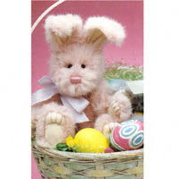 "Boyds Bears ""Gabby Bunnyhop""  8"" Plush Bunny-  #522700-09  NWT- 2000 - Retired image 3"